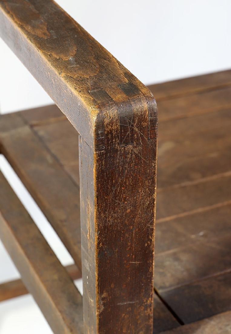 Typen-Armlehnstuhl armchair Erich Dieckmann - 2