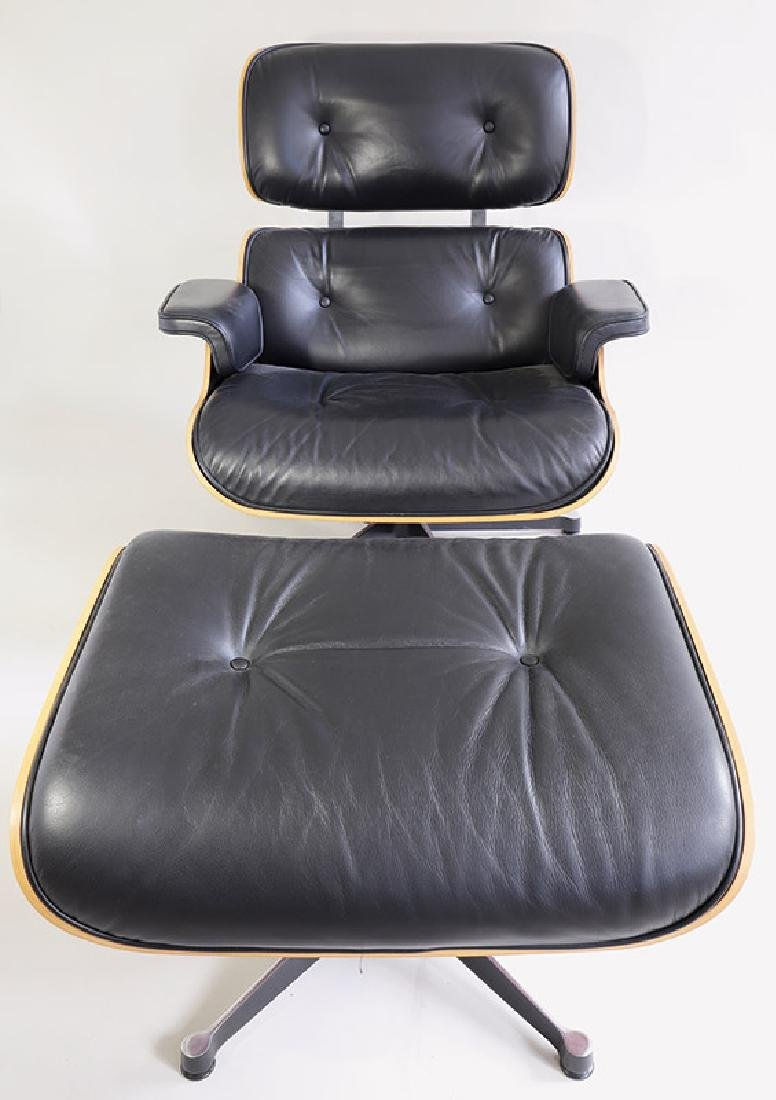 Lounge Chair with Ottoman Mod. 671 Ch. Eames Vitra - 2
