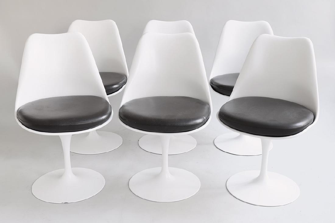 6 Chairs Tulip Mod. 151 E.Saarinen Knoll International