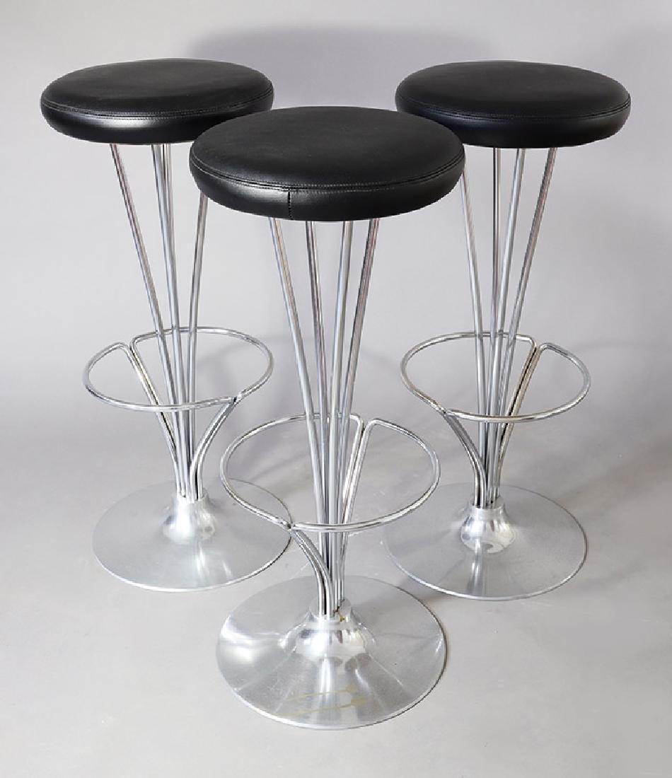 3 Bar stools Mod. 9511 Piet Hein Fritz Hansen