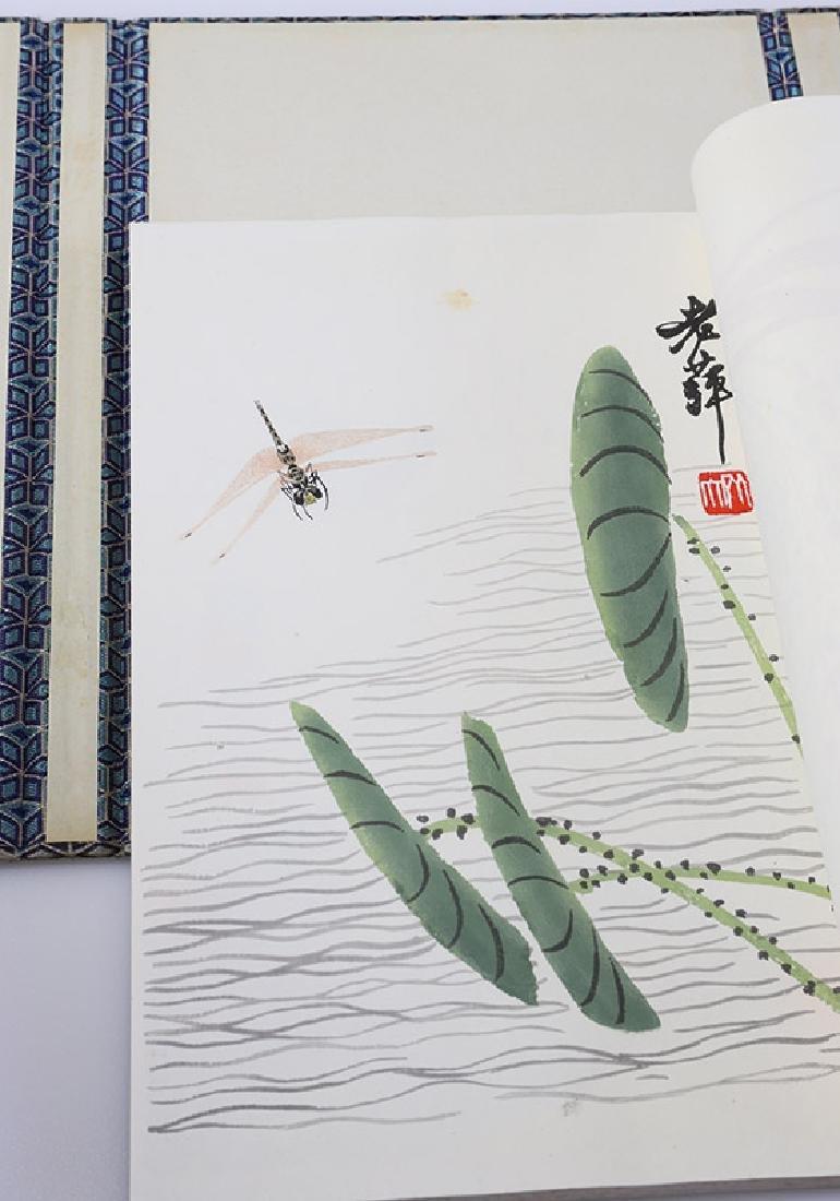 Qi Baishi (1864-1957), coloured woodcuts - 4