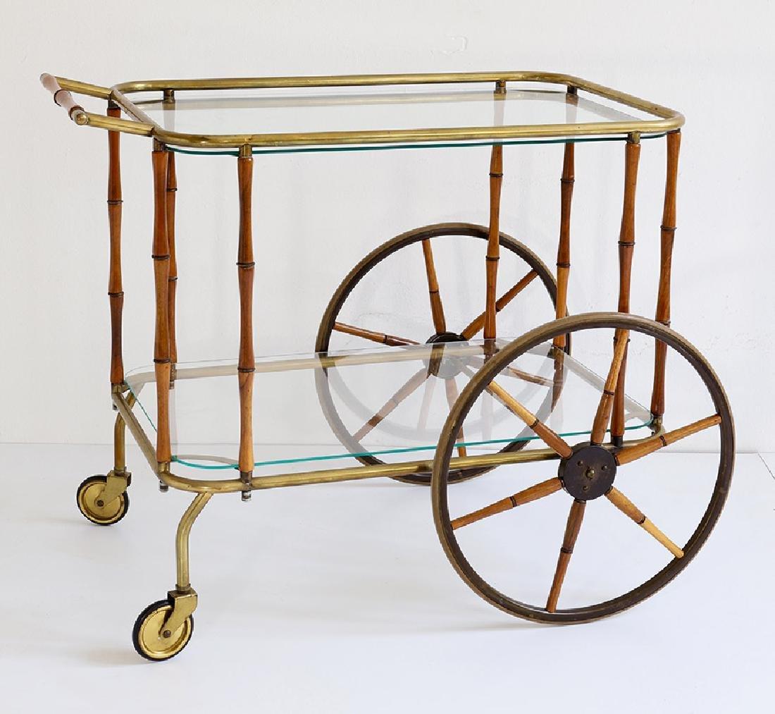 Tea cart Maison Jansen