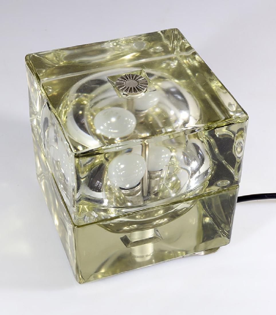 Table Lamp Cubo Sfera, Alessandro Mandini, Fidenza