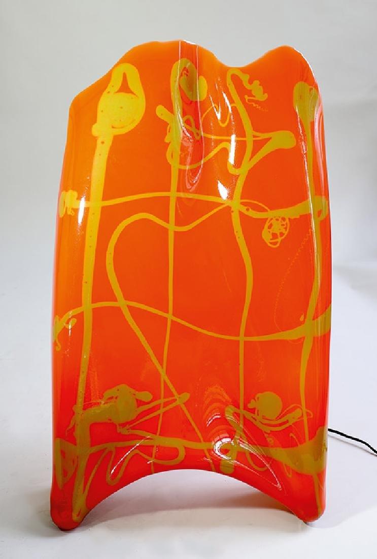 Wall Lamp Schleier / Voile, Gaetano Pesce