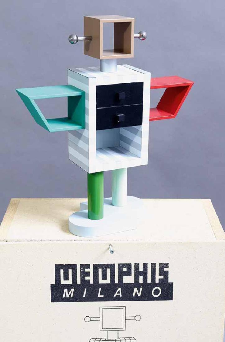 Masanori Umeda, Memphis Milano, Miniature shelf Ginza,