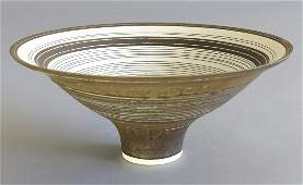 Lucie Rie, large Sgraffito bowl