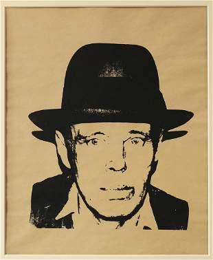 Andy Warhol, Josef Beuys unique piece