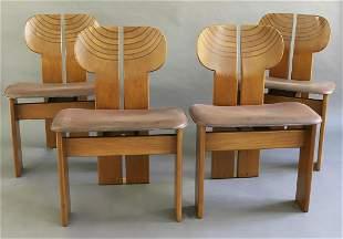 Afra & Tobia Scarpa 4 Chairs Mod. Artona