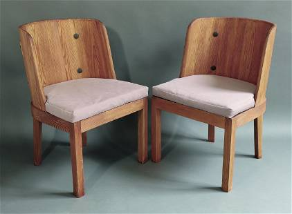 Axel Einar Hjorth, 2 Chairs Model Lovö