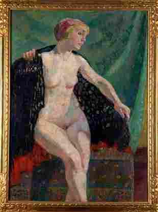 Raphaël Dubois, Large female Nude