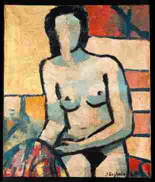 Jean Deyrolle* (1911-1967), Oil on canvas
