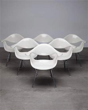 George Nelson, Herman Miller 6 Chairs DAF