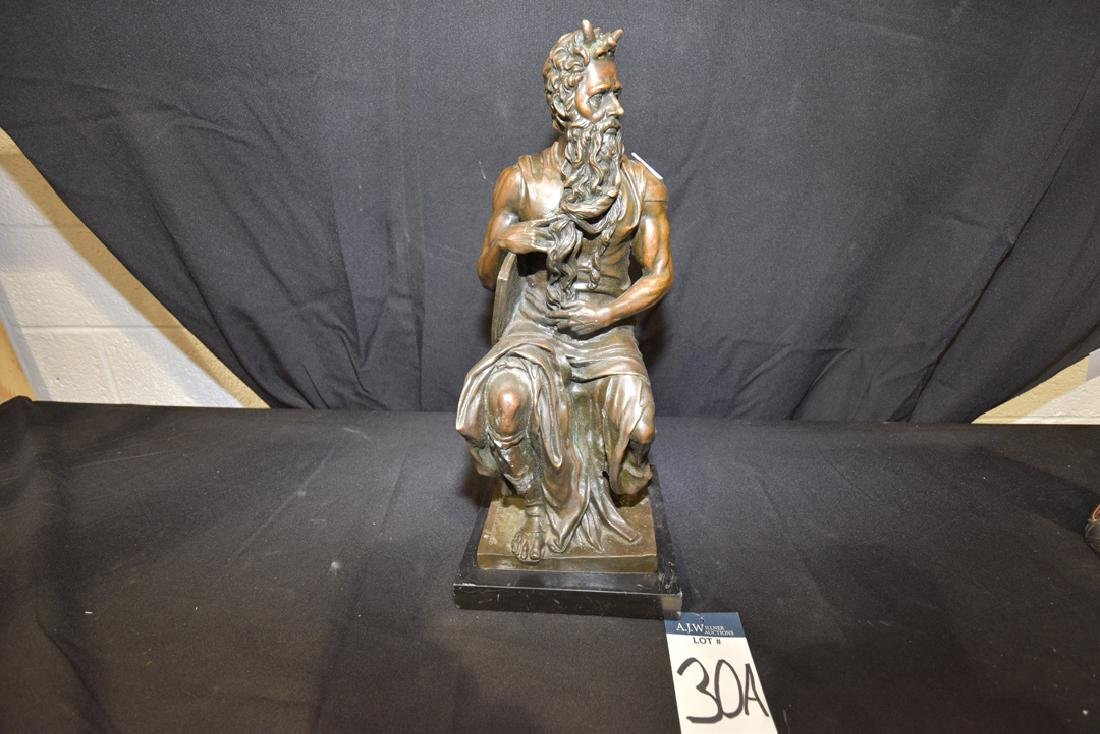 Moses Bronze After Michelangelo