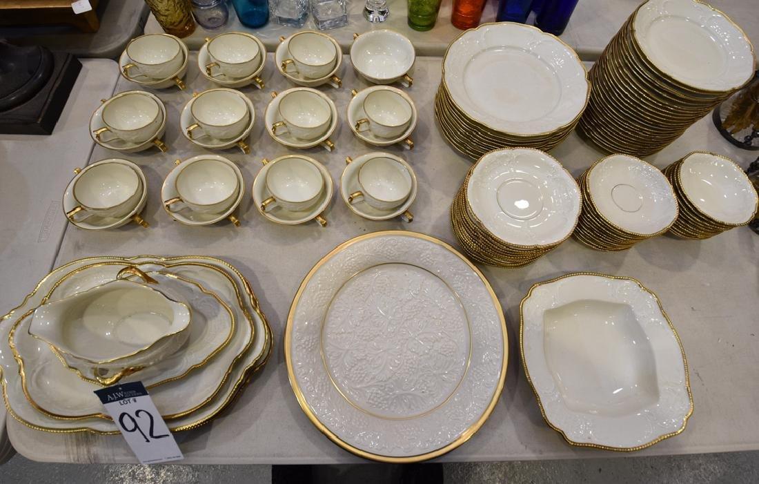 98 Pc. Rosenthal Porcelain Sanssouci Dinnerware Set