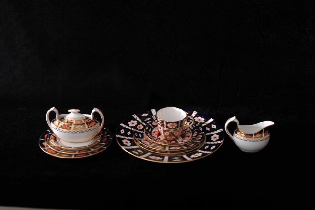 "Royal Crown Derby""Imari"" pattern partial dinner service"