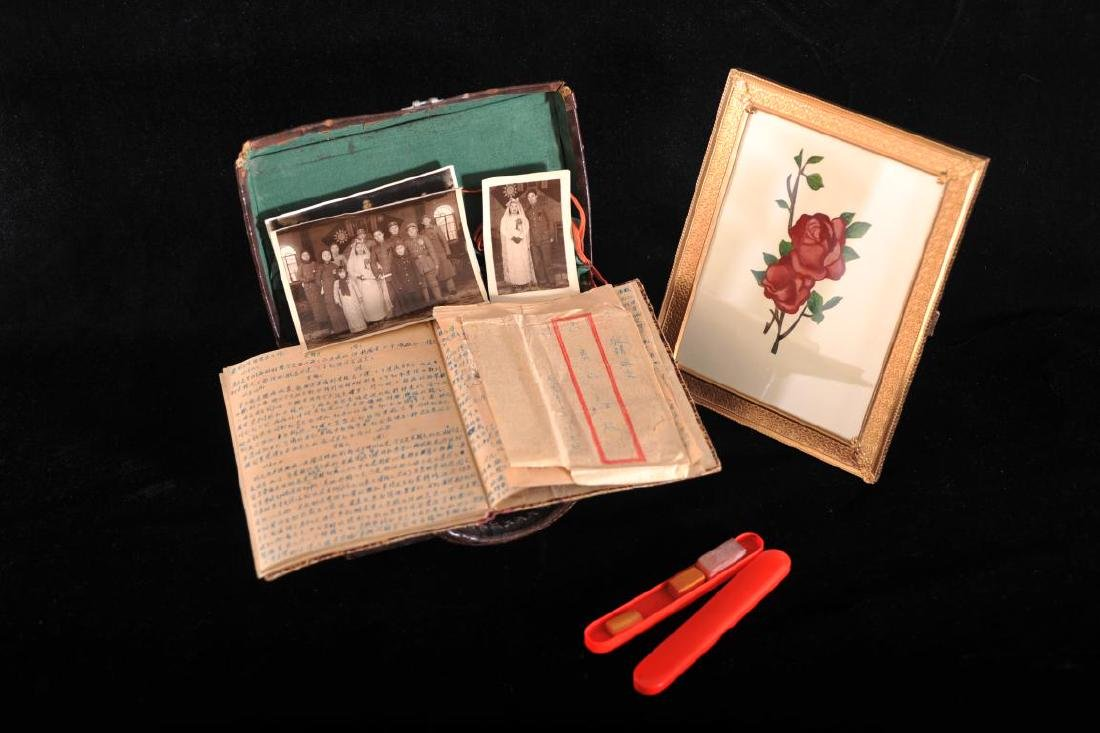 Collection of 1940's  photographs and letters