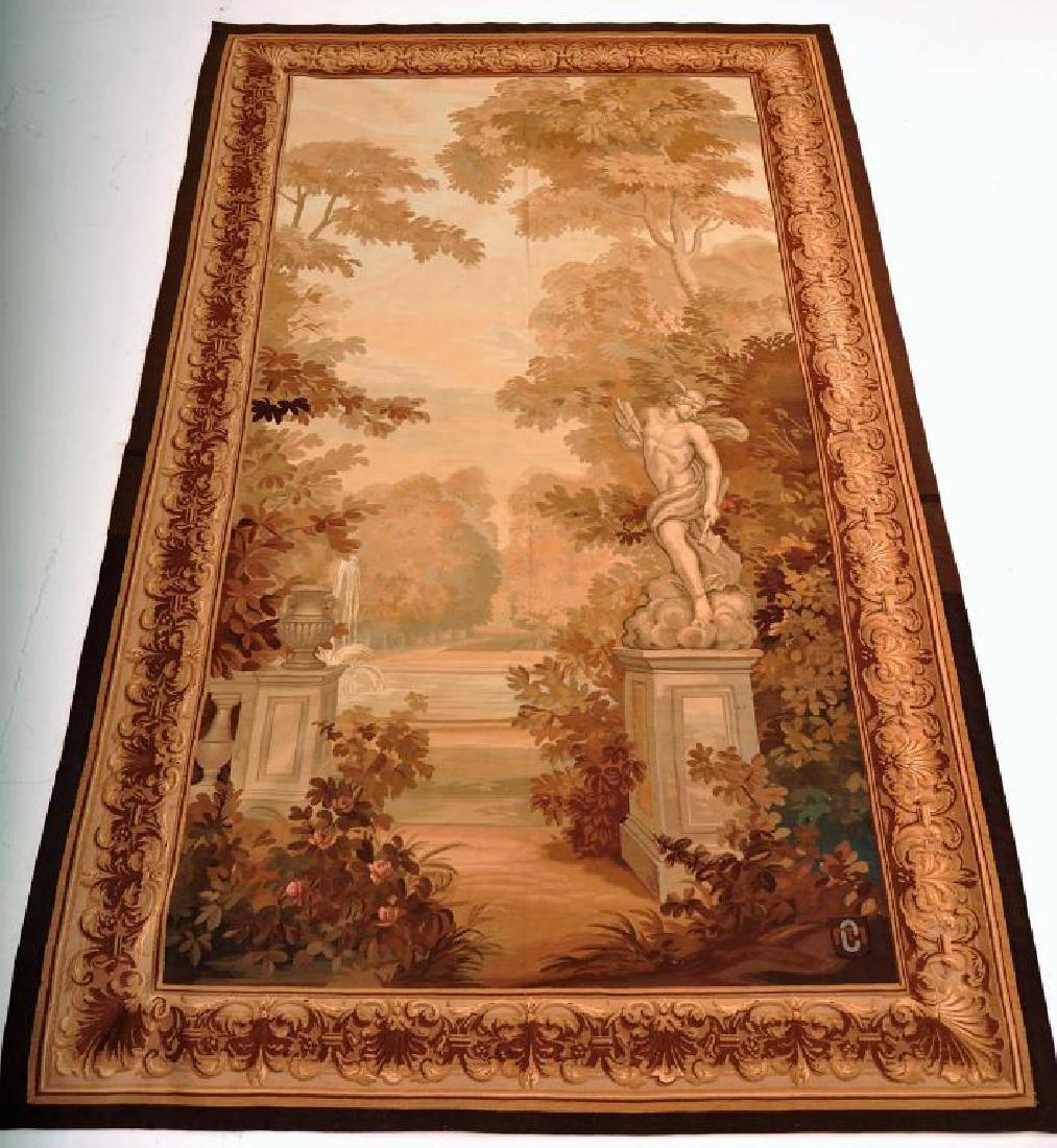 Mythological landscape Tapestry,probably Belgain, 19