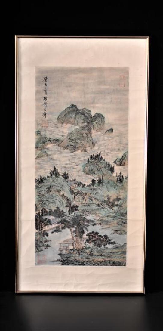 Painting by Yu Ji Zheng