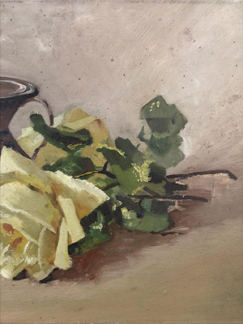Late 19th early 20th century Still life, oil on panel, - 3