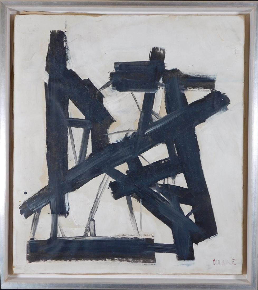Manner of Franz Kline (1910-1962): Abstract Composition