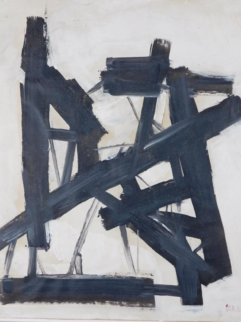 Manner of Franz Kline (1910-1962): Abstract Composition - 2