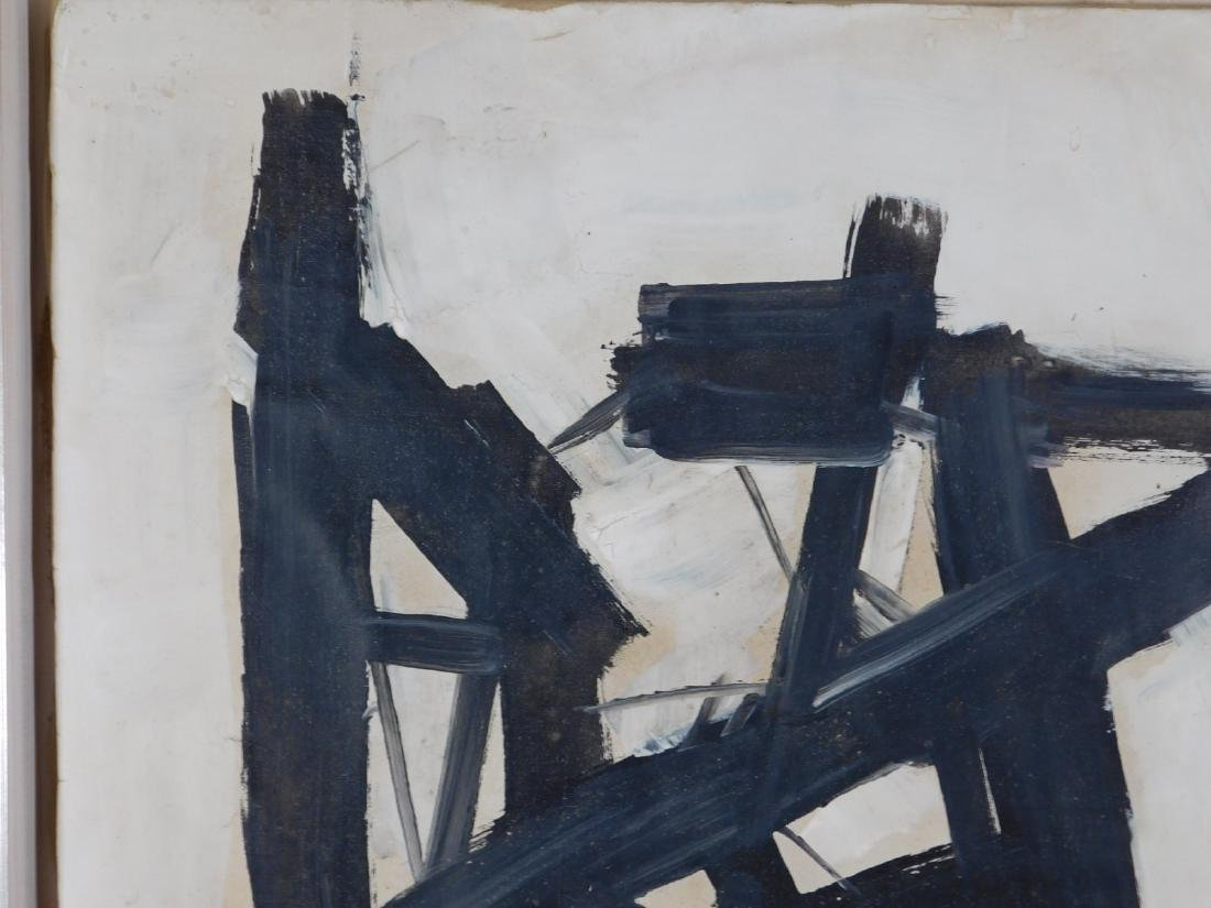 Manner of Franz Kline (1910-1962): Abstract Composition - 6