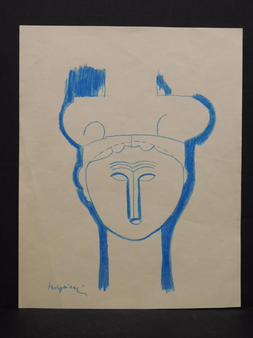 After Amedeo Modigliani: Tete de Cariatide - 2
