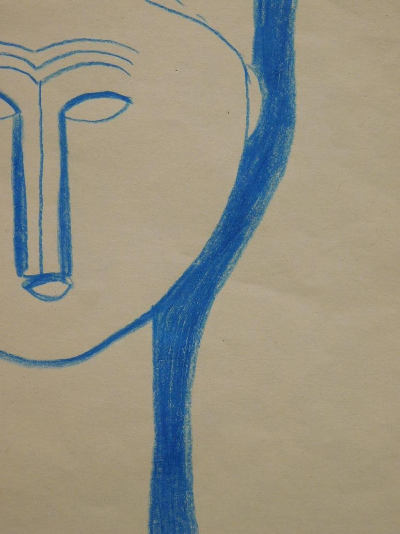After Amedeo Modigliani: Tete de Cariatide - 5