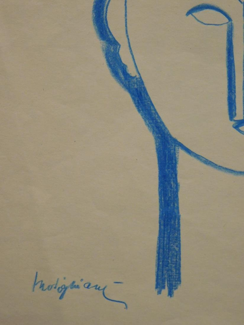 After Amedeo Modigliani: Tete de Cariatide - 6