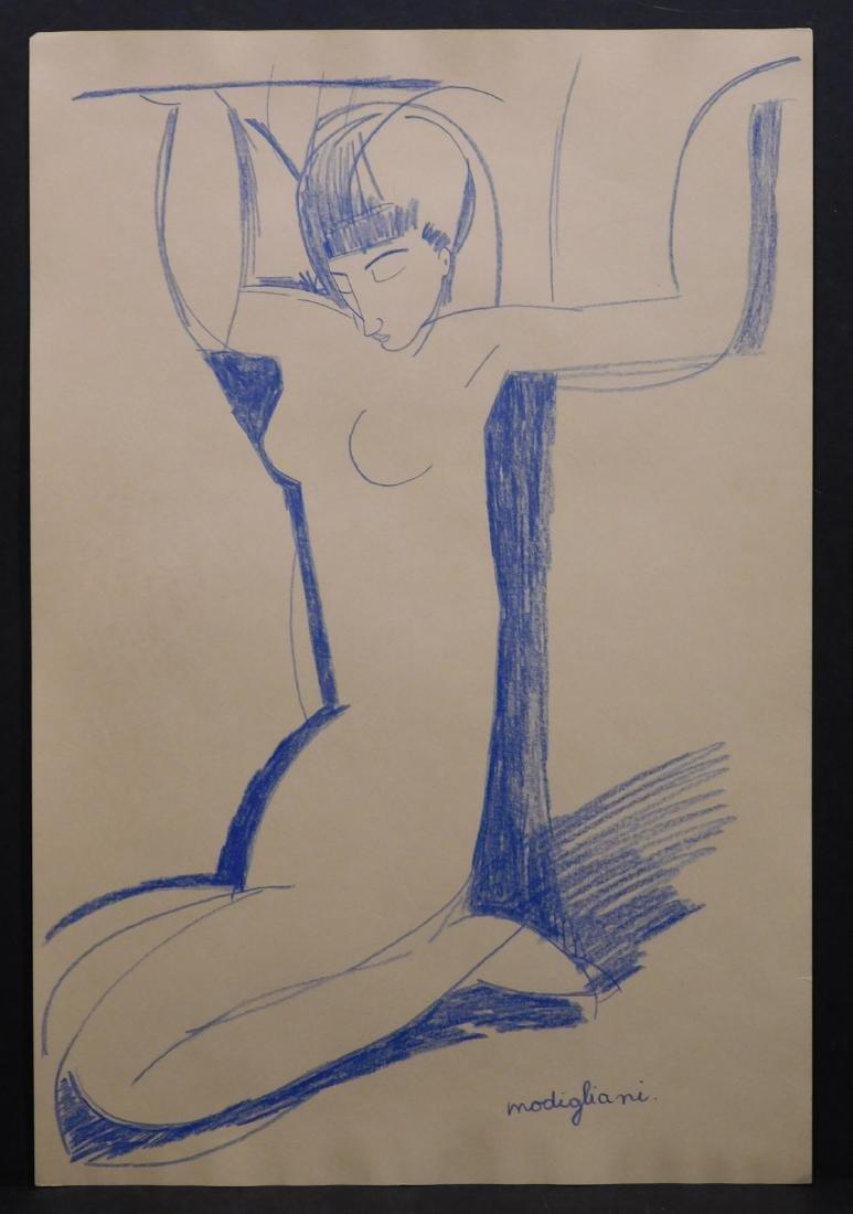 Manner of Amedeo Modigliani: Cariatide