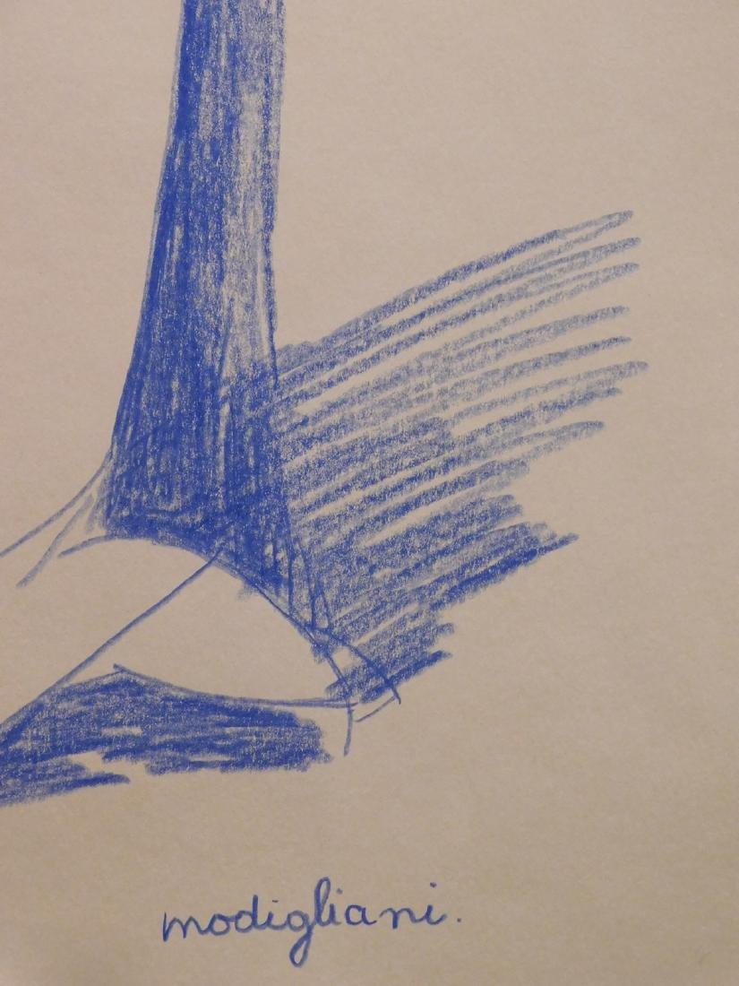 Manner of Amedeo Modigliani: Cariatide - 4