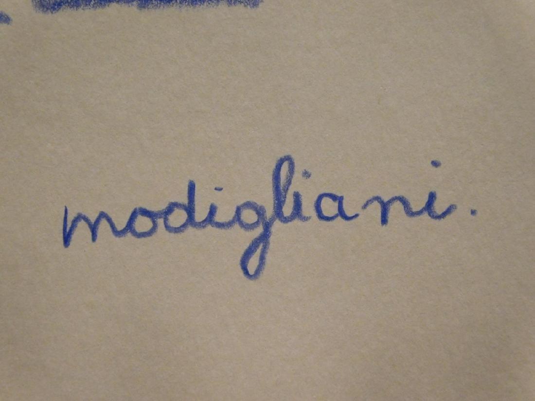 Manner of Amedeo Modigliani: Cariatide - 6
