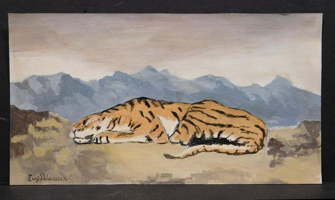 Manner of Eugene Delacroix: Tiger - 2
