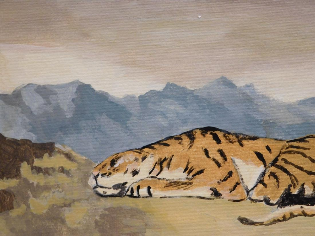 Manner of Eugene Delacroix: Tiger - 3