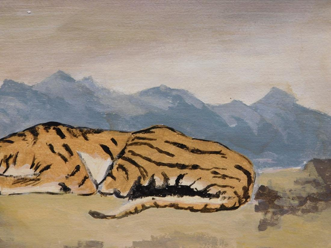 Manner of Eugene Delacroix: Tiger - 4