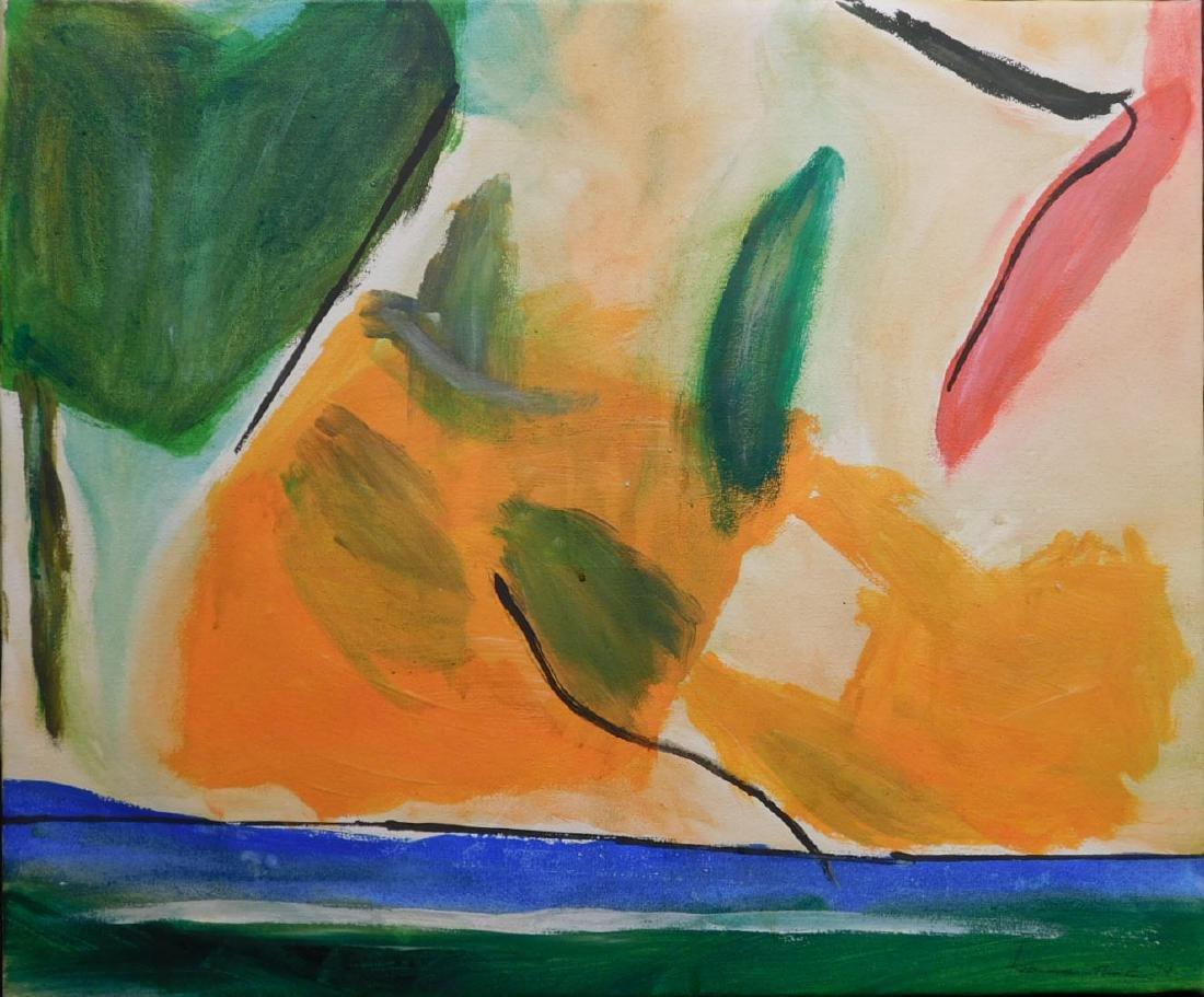 Helen Frankenthaler: Abstract Composition