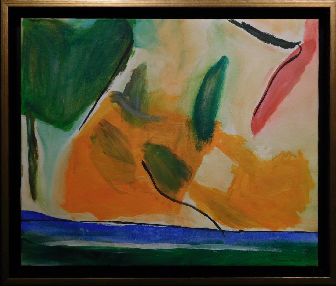 Helen Frankenthaler: Abstract Composition - 2