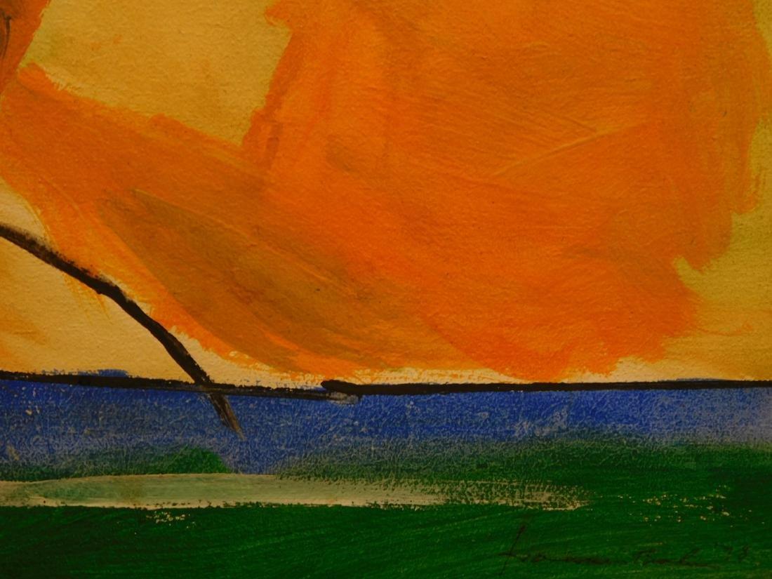 Helen Frankenthaler: Abstract Composition - 5