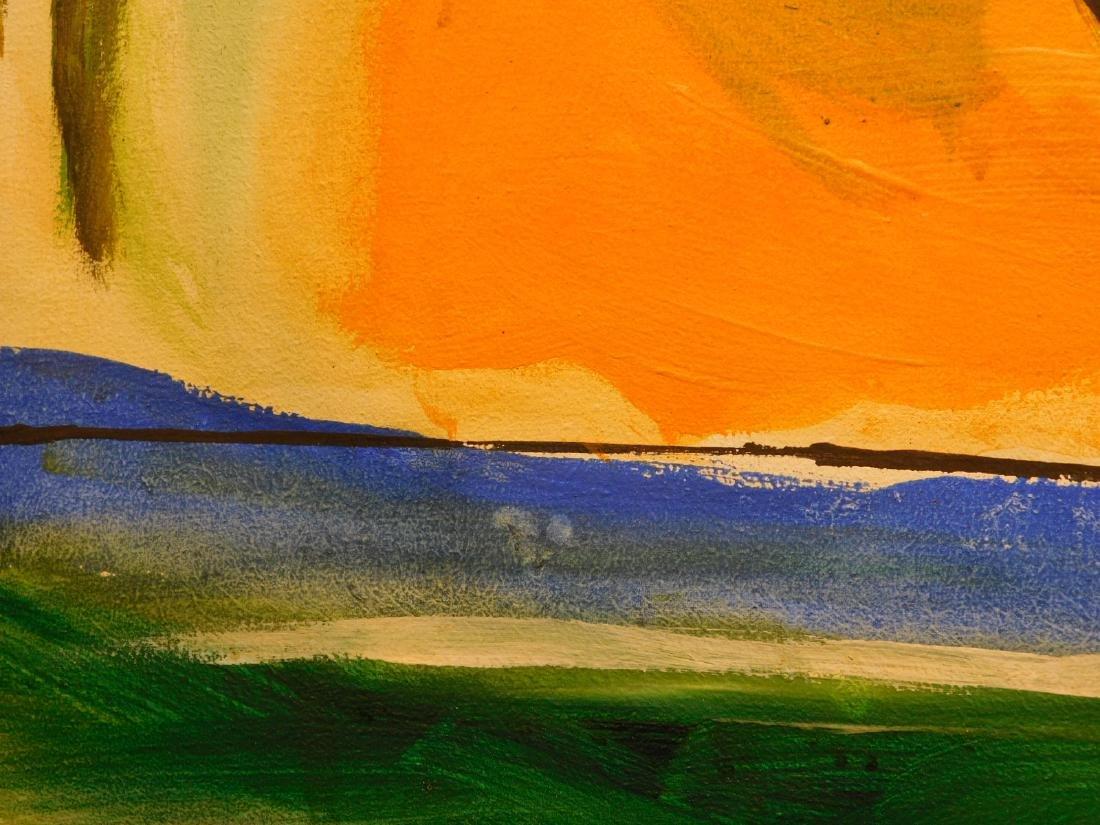 Helen Frankenthaler: Abstract Composition - 6