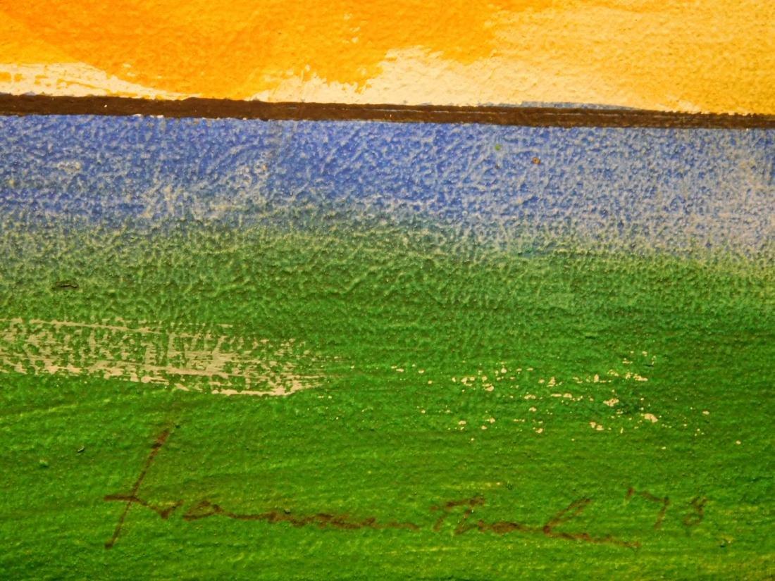 Helen Frankenthaler: Abstract Composition - 7