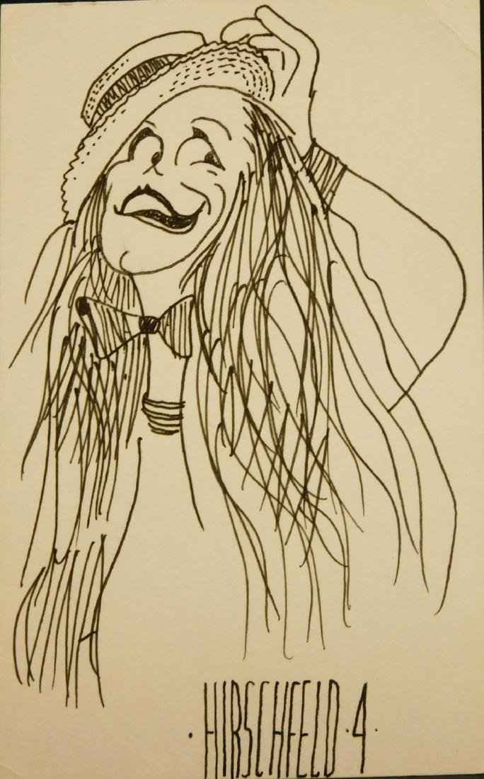Al Hirschfeld: Caricature Drawing