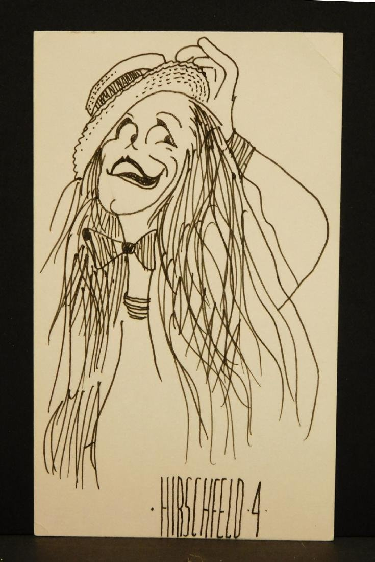 Al Hirschfeld: Caricature Drawing - 2