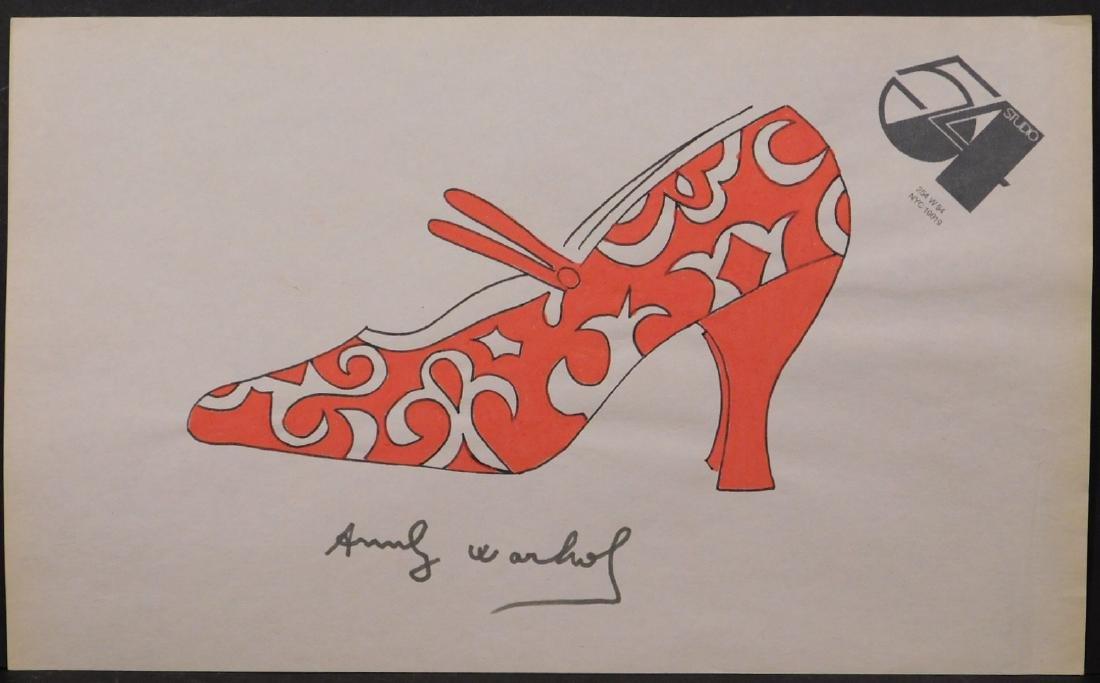 Andy Warhol: Red Heel