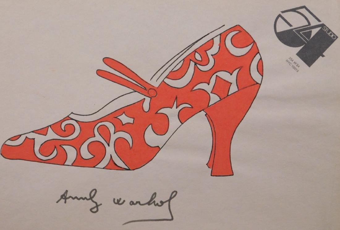 Andy Warhol: Red Heel - 2