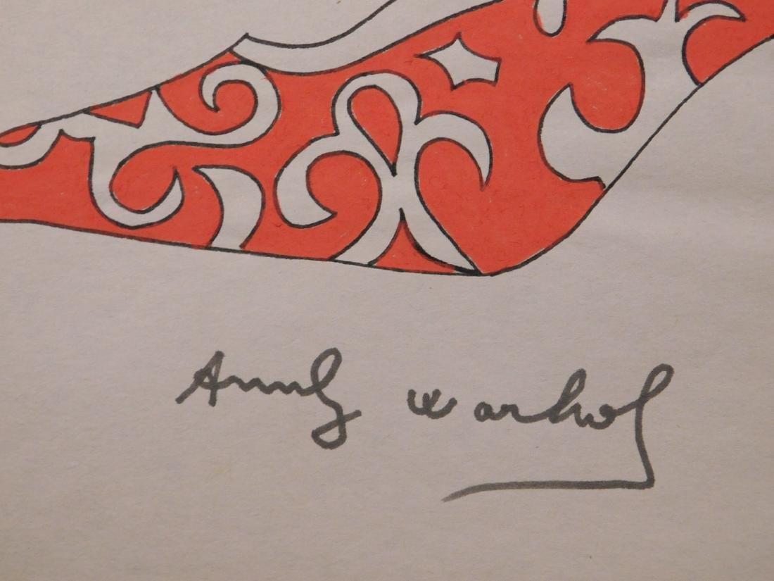 Andy Warhol: Red Heel - 3