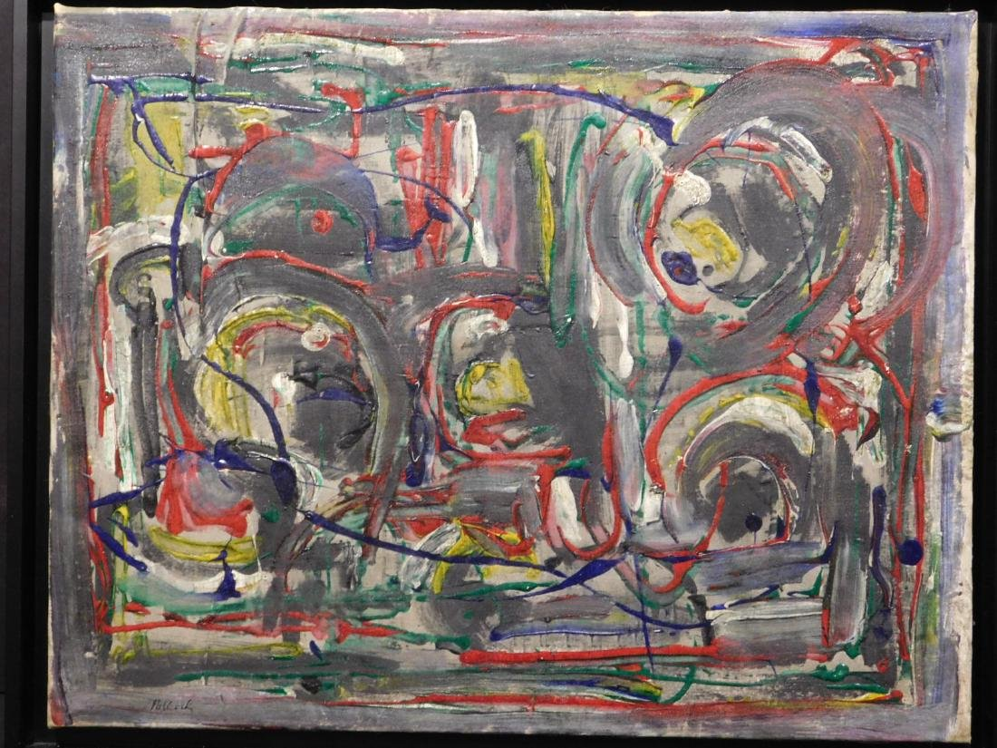Jackson Pollock: Abstract Composition - 2