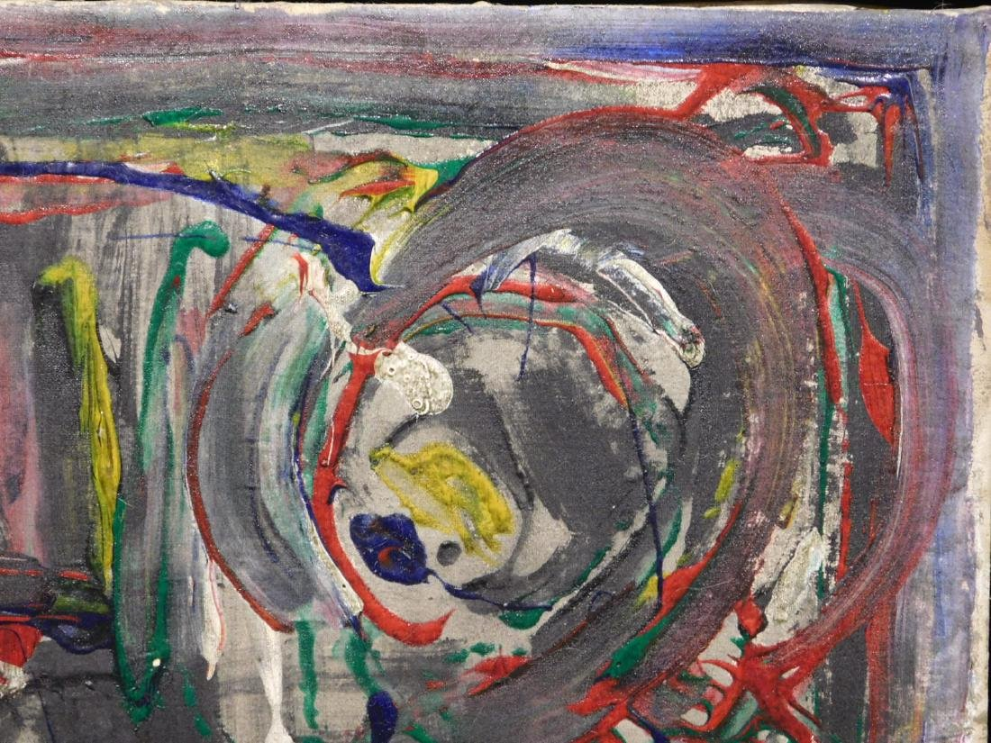 Jackson Pollock: Abstract Composition - 4