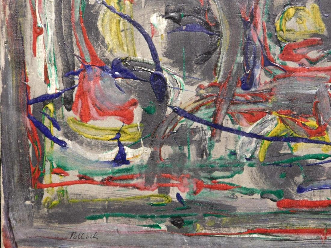 Jackson Pollock: Abstract Composition - 6