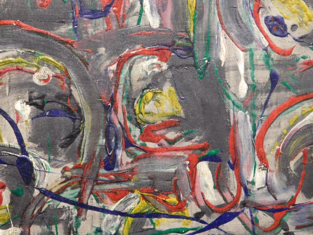 Jackson Pollock: Abstract Composition - 7