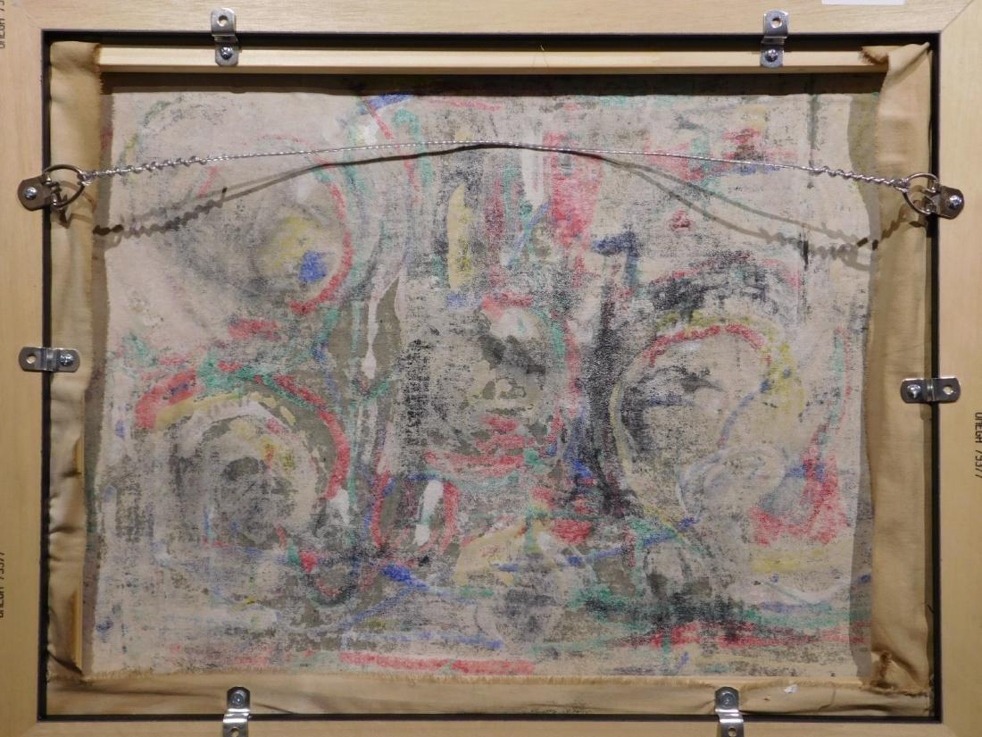 Jackson Pollock: Abstract Composition - 9